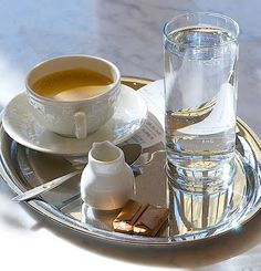 In Vienna your coffee should be presented this way. If it isn't, then you're in the wrong cafe. Coffee Cafe, Coffee Shop, Coffee Tray, Drink Coffee, Coffee Mugs, Coffee Republic, River Cruises In Europe, Austrian Recipes, Austrian Food