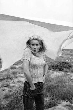 Catherine Deneuve. Photo by Franco Pinna, 1963.