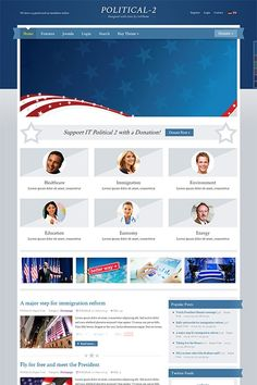 We are pleased to announce our August Joomla Theme, IT Political 2, and as all our Premium Joomla Themes it features an elegant layout with colors blending perfectly with each other.  User-friendly and intuitive, IT Political 2, will become your ultimate choice for your next awesome website.  In case you are looking for a simple solution to finish your next website, look no further, check this Demo.  http://demo.icetheme.com/?template=it_political2