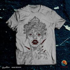 That girl Sussi on Threadless Mens Tops, T Shirt, Design, Products, Fashion, Supreme T Shirt, Moda, Tee, Fashion Styles