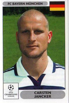 FC BAYERN MUNICH - Carsten Jancker 224 2000 2001 PANINI UEFA Champions League Sticker