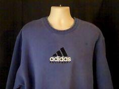 ADIDAS Limited Edition Mens 2XL Sweatshirt Cotton Polyester (small fade mark) #adidas #SweatshirtCrew