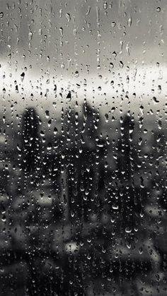 Rain Window Nature Pattern 34 Iphone6 Plus Wallpaper