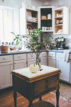 Thoughts from Alice: Fall Home Tour: The Porch & Kitchen