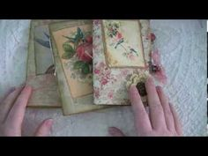 Small Vintage Themed Journals! - YouTube