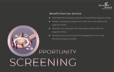 With a team of industry veterans and experienced consultants, we help you to identify the best opportunities in terms of regions, markets, segments, applications, and products. Click the link to get in touch with us or simply give a call at +1-313-307-4176. #OpportunityScreening #StratviewResearchServices #StratviewResearch #marketanalysis #marketinsights All News, Job Title, Application Development, Market Research, Assessment, A Team, Opportunity, Insight, Investing