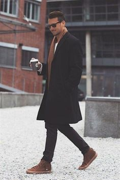 41 Cool Casual Men Winter Outfits To Wear Now - Suitable Fashion Ideas for You Mens Winter Coat, Mens Fall, Fall Winter, Casual Winter, Winter Wear, Winter Coats, Mens Winter Clothes, Mens Style Winter, Winter Tips