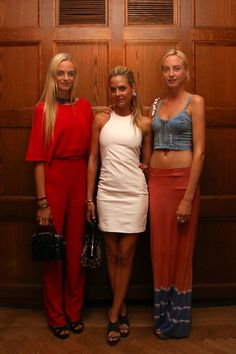 Virginie, in Valentino, Jenna, and Claire Courtin-Clarins