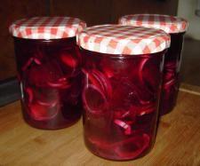 Rezept eingelegte Rote Beete von tellerschwinger - Rezept der Kategorie Vorspeisen/Salate