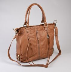 Tote with Zipper Details and Long Strap - Back by Demand! Big Buddha Bags - Events