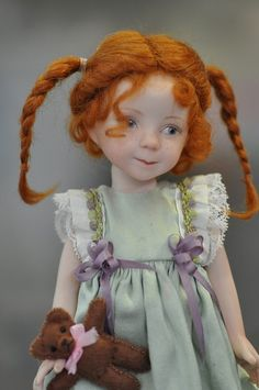 one of the entrants in the Porcelain Doll section at the 2011 Whittlesea Ag. Show, Victoria Australia - artist unknown [per previous pinner] Clay Dolls, Bjd Dolls, Doll Toys, Dollhouse Dolls, Miniature Dolls, Pretty Dolls, Beautiful Dolls, Antique Dolls, Vintage Dolls