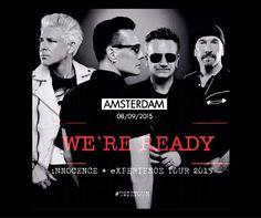 #U2ieTour #Amsterdam #U2 2015
