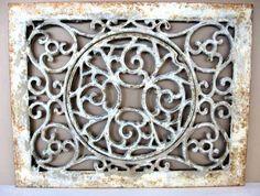 Antique Victorian Decorative Rectangular