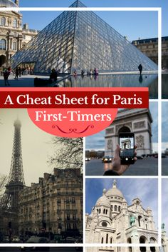 Travel Paris | If you're planning a trip to Paris, this cheat sheet has all your travel Paris basics + a Free downloadable cheat sheet to take on the go.