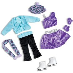 My Life As Ice Skating Doll Clothing Accessory Set