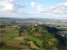 FSV Blitz e.V. - Segelflugsportvereinigung Amöneburg, Hessen: Amöneburg und Umgebung
