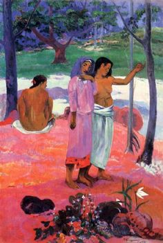 by Paul Gauguin in oil on canvas, done in . Now in a private collection. Find a fine art print of this Paul Gauguin painting. Paul Gauguin, Henri Matisse, Impressionist Artists, Cleveland Museum Of Art, Pierre Bonnard, French Art, Art Reproductions, Art Museum, Fine Art