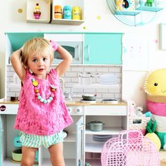 Play kitchen for kids | four cheeky monkeys |kids interior and decor blog