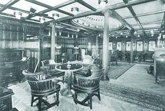 First class salon on the Kaiser Franz Joseph I Istanbul, Carnival Corporation, Franz Josef I, Austro Hungarian, Ellis Island, Newport News, Trieste, First Class