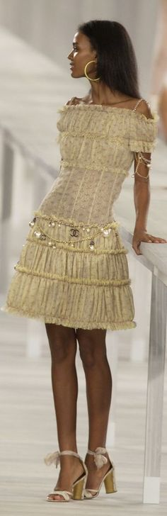 Chanel - I love the structure that Chanel puts into clothing. Beautiful.