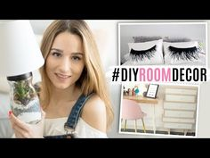 2 DIYs para decorar tu cuarto & nuevos muebles   ROOM DECOR - YouTube