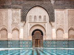 Just can't get enough of this beautiful shot of Ben Youssef Madrasa in Marrakech | by Françoise LD
