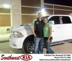 Congratulations to David Keenum on the 2011 #Dodge #1500
