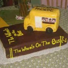 Wheels On The Bus, 2nd Edition Cake