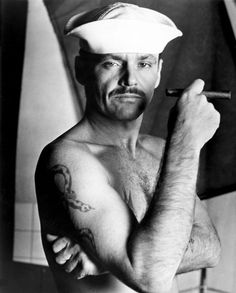 Jack Nicholson in The Last Detail (1973).