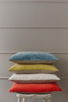 Velvet Cushion Teal