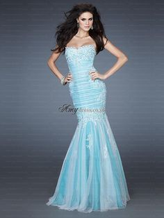 Shop La Femme evening gowns and prom dresses at Simply Dresses. Designer prom gowns, celebrity dresses, graduation and homecoming party dresses. Prom Dress 2014, Tulle Prom Dress, Homecoming Dresses, Strapless Dress Formal, Formal Dresses, Dress Long, Long Dresses, Dresses Dresses, Formal Wear