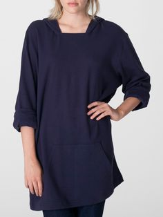 American Apparel Sweatshirt Dress / Poncho