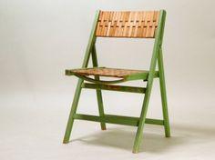 'GELENKA' folding chair from Erich Dieckmann, 30′s, Frankfurt Minimal