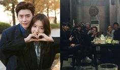 Lee Jong Suk, Park Shin Hye, and more Pinocchio cast members reunite Park Shin Hye, Lee Jong Suk, Beautiful Words Of Love, Cast Member, Hyun Bin, Pinocchio, Hyde, Are You Happy, The Past