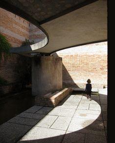 Biennale grounds, Giardini  Venice, Italy 1952  Carlo Scarpa, Architect