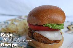 Crispy Chicken Breast Sandwich