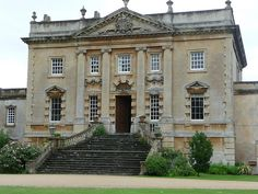 Frampton Court, via Flickr. Renaissance Architecture, Neoclassical Architecture, Townhouse Exterior, English Manor Houses, Tower House, Grand Homes, Country Estate, Abandoned Mansions, Architecture Plan