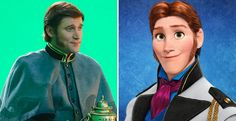 First look at Frozen's Hans in Once Upon a Time season 4 A real face to punch. YAAASSS.-Kim