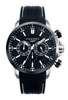✅ Viceroy Reloj Cronógrafo para Hombre de Cuarzo con Correa