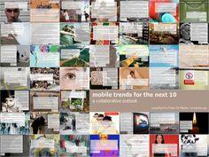 by Rudy De Waele via Slideshare Mobile Design, Mobile Marketing, Photo Wall, Trends, Librarians, Inspiration, Anna, Biblical Inspiration, Photograph