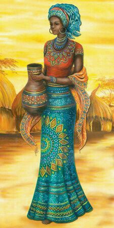african art (I like this) African Beauty, African Women, African Fashion, Afrique Art, African Art Paintings, Black Artwork, Afro Art, African American Art, Black Women Art