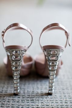 heels, pink and glitz....perfect wouldn't you say?