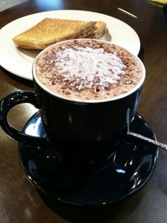 Hot chocolate as effective as coffee #caffeineboost