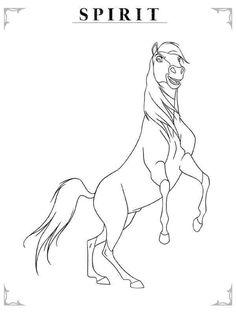 disney malvorlage spirit kostenlos   ausmalbilder disney in 2019   horse coloring pages, spirit