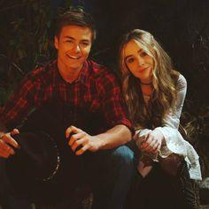 Lucas Friar and Maya Hart (Sabrina Carpenter and Peyton Meyer)