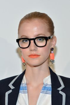 The earrings at @jcrew are so pretty! // J.Crew - Presentation - Spring 2013 Mercedes-Benz Fashion Week