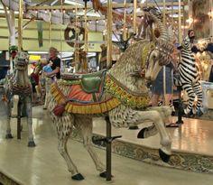 Trimper's Herschell-Spillman Carousel-goat