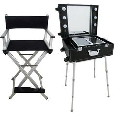 Folding Makeup chairs with new look. #folding #makeup #chairs #salon