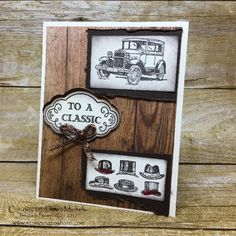 Stampin' Up! Guy Greetings card with Label Me Pretty Bundle by Dawn Michels, May 2017 Stamping to Share Demo Meeting Swap, Retirement Cards, Pretty Cards, Masculine Cards, Stampin Up Cards, Holiday Cards, Cardmaking, Greeting Cards, Dawn, Diy Crafts