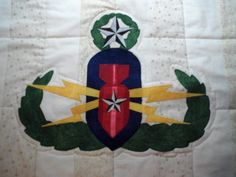 Close-up of EOD crab for Blue Star banner